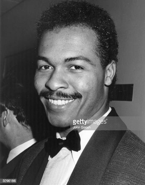 Singer songwriter Ray Parker Jnr at the BAFTA awards ceremony, held at Grosvenor House Hotel in London. He was there to receive an award for best...
