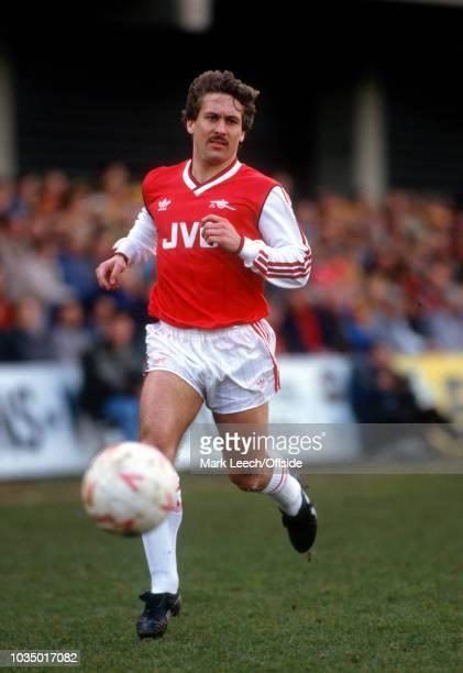 21 March 1987 Watford Football League Division One Watford v Arsenal Kenny Sansom of Arsenal