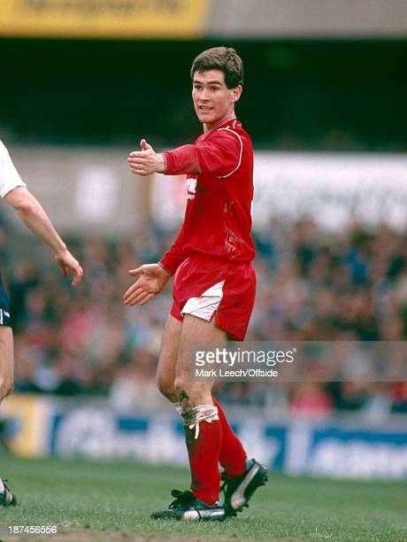 26 March 1988 Football League Division One Tottenham Hotspur v Nottingham Forest Nigel Clough of Forest