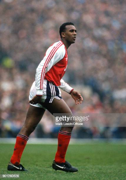 Football League Division One Arsenal v Nottingham Forest _ David Rocastle of Arsenal