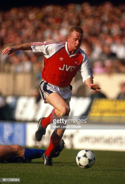 17 March 1990 London _ Football League Division One Arsenal v Chelsea Perry Groves of Arsenal