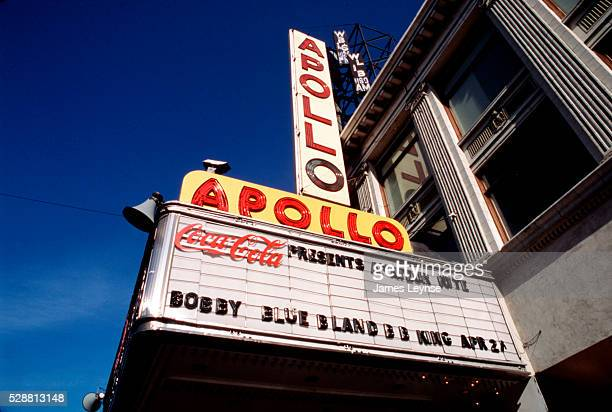 The world famous Apollo Theatre in Harlem