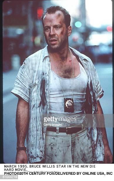 March 1995Bruce Willis Stars In The New Die Hardd Movie