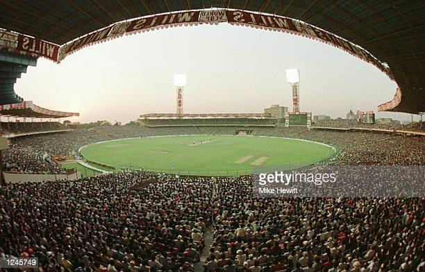 110000 Indian cricket fans crammed into Eden Gardens Calcutta on Wednesday for the World Cup quarter final between India and Sri Lanka The game was...