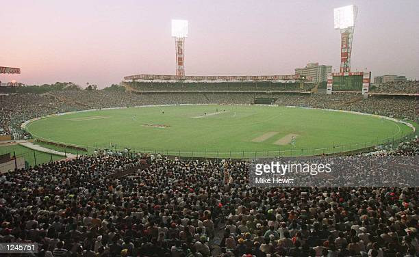 Indian cricket fans crammed into Eden Gardens, Calcutta on Wednesday for the World Cup quarter final between India and Sri Lanka. The game was...