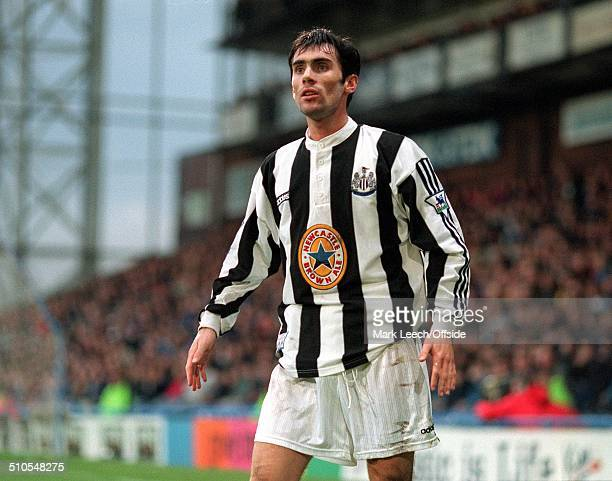 23 March 1997 FA Premiership Football Wimbledon v Newcastle United Keith Gillespie