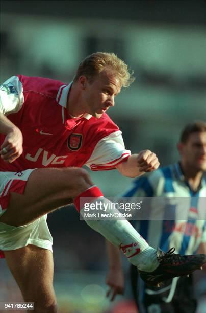 28 March 1998 London Premier League Football Arsenal v Sheffield Wednesday Dennis Bergkamp of Arsenal