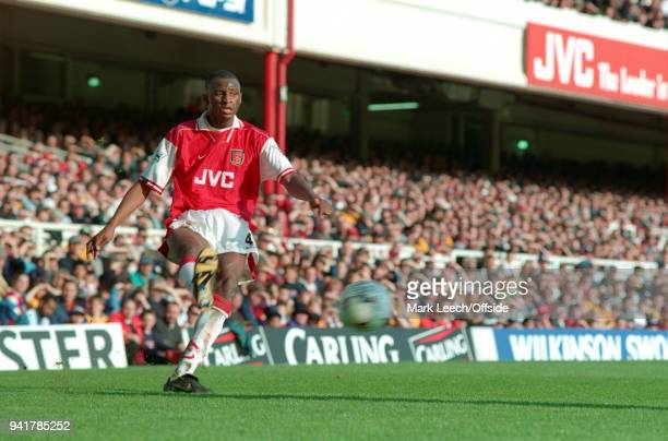 March 1998 London, Premier League Football, Arsenal v Sheffield Wednesday - Patrick Vieira of Arsenal