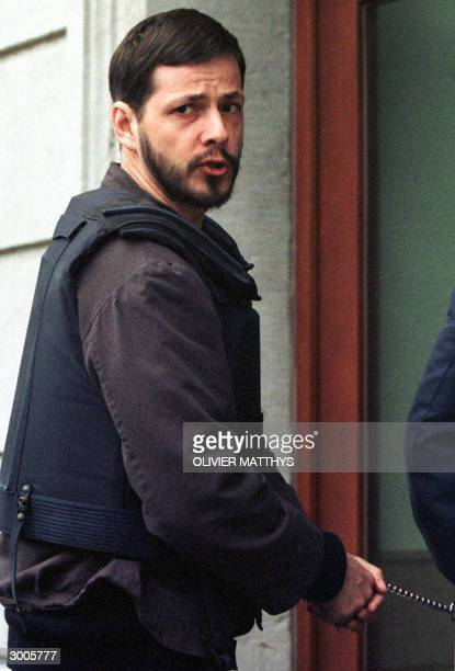 A 27 March 1998 photo shows accused Belgian paedophile and murderer Marc Dutroux Belgium is to relive the events of 1996 when Dutroux led Belgian...