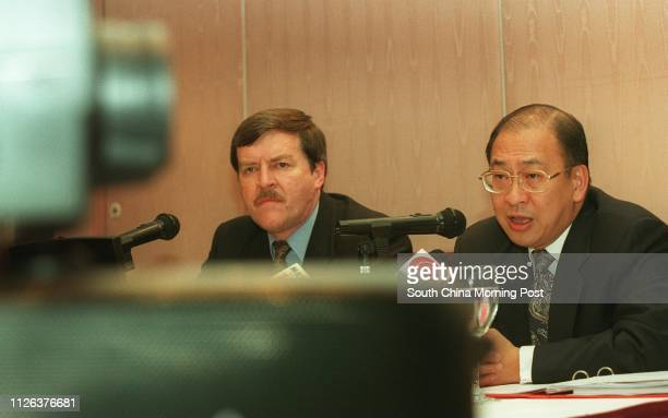 S EXECUTIVE DIRECTORS COLIN WEIR AND ROBERT NIEN ATTENDING A HOPEWELL PRESS CONFERENCE ON COMPANY RESULTS 30 March 1999