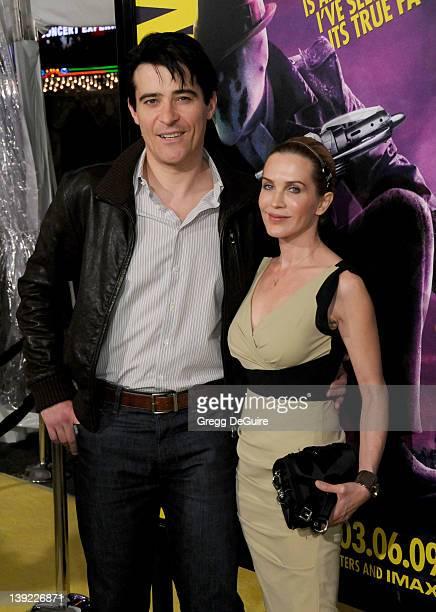 "March 2, 2009 Hollywood, Ca.; Goran Visnjic and Ivana Vrdoljak; ""Watchmen"" U.S. Premiere; Held at Grauman's Chinese Theatre"
