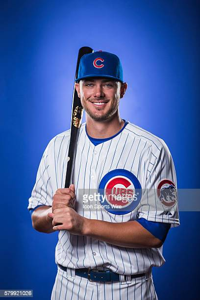 Infielder Kris Bryant poses for a portrait during the Chicago Cubs photo day in Mesa, AZ.
