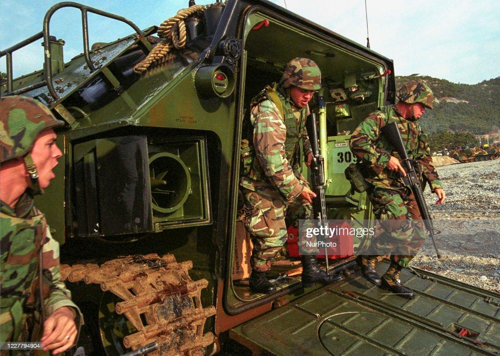 US Military In South Korea : Nieuwsfoto's