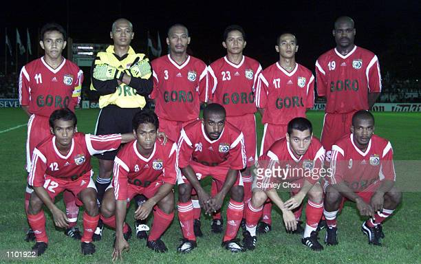 PSM Makassar Team of Indonesia during the Asian Club Championship East Asia zone quarter finals match between PSM Makassar and Suwon Samsung of Korea...