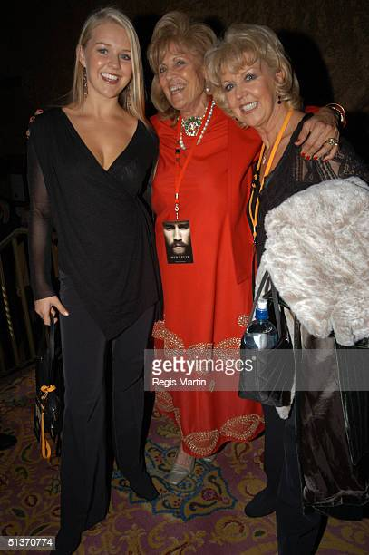 22 March 2003 LAUREN NEWTON LILLIAN FRANK and PATTIE NEWTON at the after party for the world premiere of the Movie Ned Kelly by director Gregor...