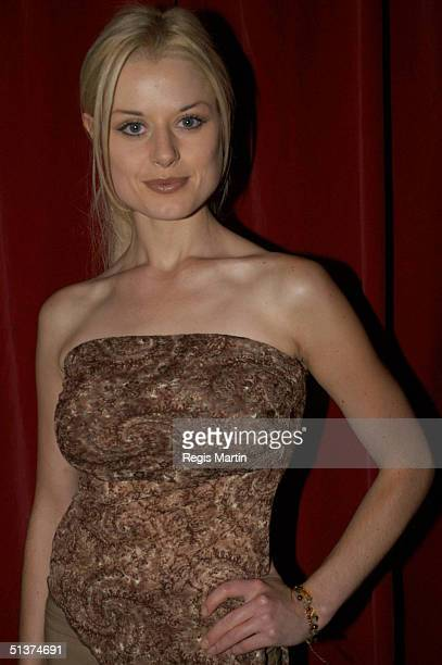 21 March 2003 X102 Madeleine West at the Omega wrap party which ended the Melbourne Fashion Festival in Melbourne Victoria Australia X102 PEOPLE...