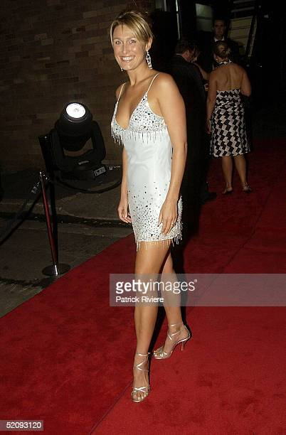 30 March 2004 Alison Crachley at the Sydney Confidential Golden Slipper Soiree held at the Sydney Film TV Studios in Rozelle Sydney Australia