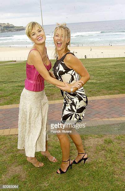 16 March 2004 Foxtel presenters AMY ERBACHER and JAYNIE SHAW at the 2004 Astra Award nominations The Astra Awards recognise outstanding subscription...