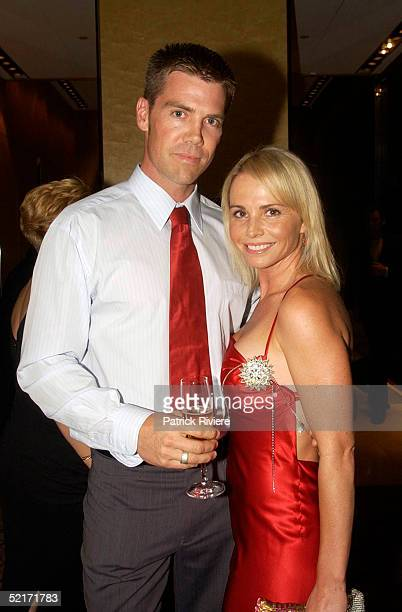 19 March 2004 Gary Davis and AlyssaJane Cook at A Night With The Stars a Millennium Foundation Charity dinner held at The Westin Hotel in Sydney...