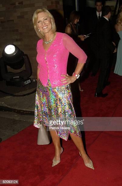 30 March 2004 KerriAnne Kennerley at the Sydney Confidential Golden Slipper Soiree held at the Sydney Film TV Studios in Rozelle Sydney Australia