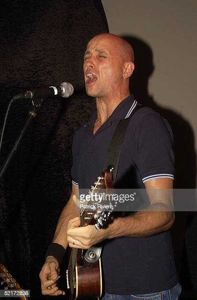24 March 2004 Mark Lizotte performs at the opening of Nude Bar in Glebe Sydney Australia