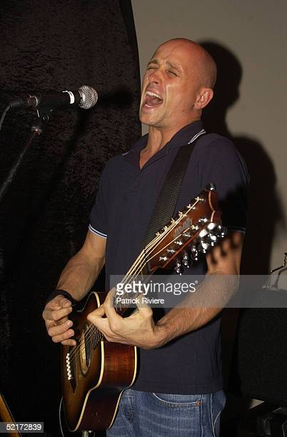 24 March 2004 Mark Lizotte plays at the opening of Nude Bar in Glebe Sydney Australia
