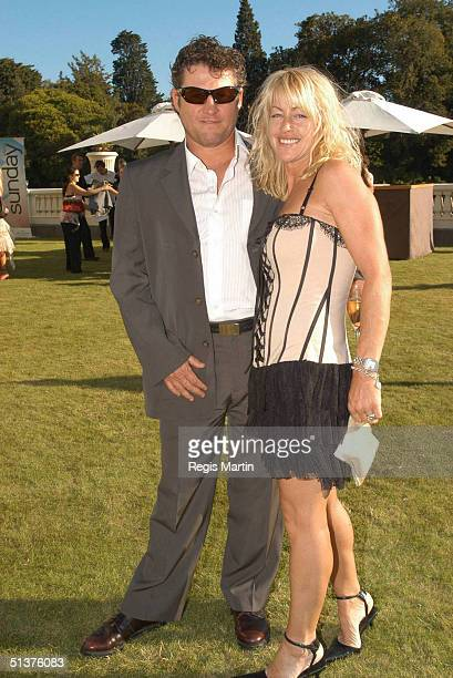 14 March 2004 PETER PHELPS and DONNA at the opening party for the L'Oreal Melbourne Fashion Festival At the Victorian Government House Melbourne...