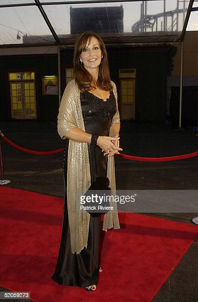 15 March 2004 Television presenter GINA BOON The Best of The Best 2004 charity fundraiser for the Mission Australia Foundation staged under Luna...