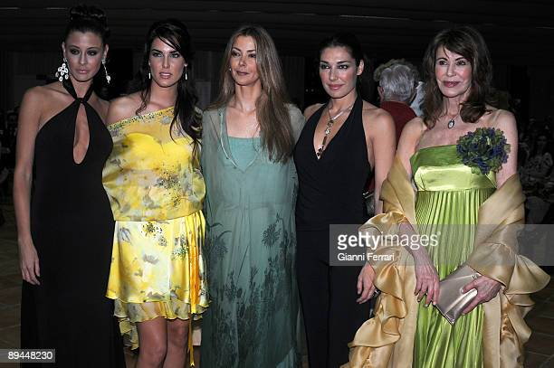 March 2008 Marina d´Or Castellon Spain Miss Spain Beauty Contest 2008 In the image Elizabeth Reyes Natalia Zabala Sofia Mazagatos Veronica Hidalgo y...