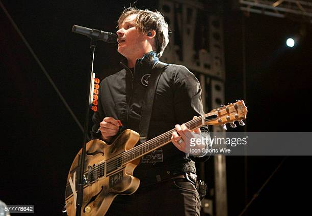Angels and Airwaves perform at Angel Stadium during The Bamboozle festival in Anaheim CA