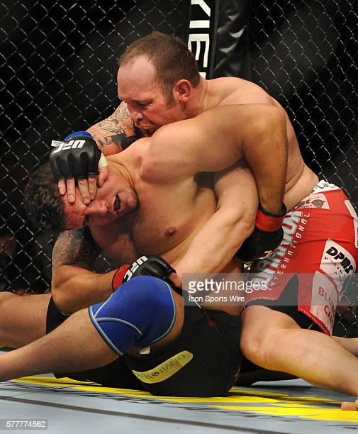 UFC 111 in at the Prudential Center Frank Mir is defeated by Shane Carwin Mir is knocked out in the first round
