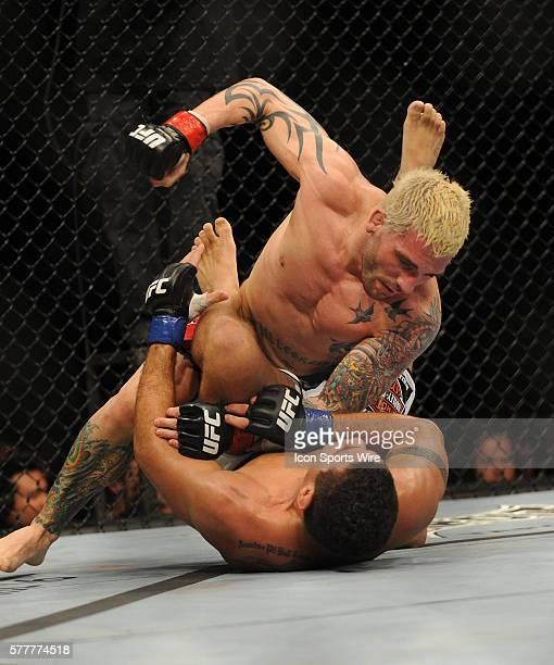 UFC 111 in at the Prudential Center Frank Pellegrino Vs Fabricio Morango Camoes