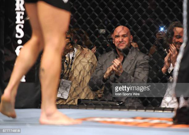 UFC 111 in at the Prudential Center George Rush St Pierre Vs Dan the Outlaw Hardy St Pierre defeates Hardy by unanimous decision UFC President Dana...