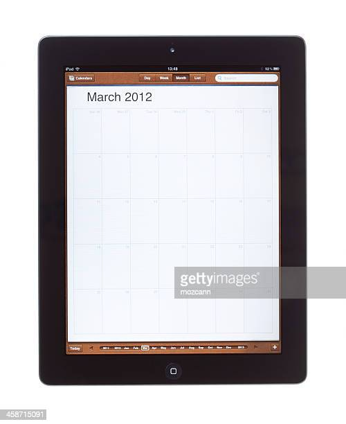 march 2012 calender on ipad 2 - united_states_house_of_representatives_elections_in_florida,_2012 stock pictures, royalty-free photos & images