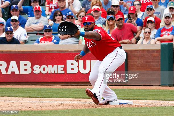 Texas Rangers First base Prince Fielder [4699] in action during the MLB Opening Day game between the Texas Rangers and Philadelphia Phillies at the...