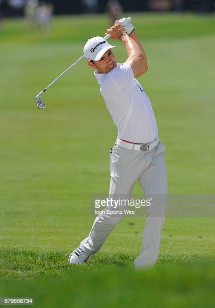 Camilo Villegas during the final round of the Arnold Palmer Invitational at Arnold Palmer's Bay Hill Club Lodge in Orlando Florida