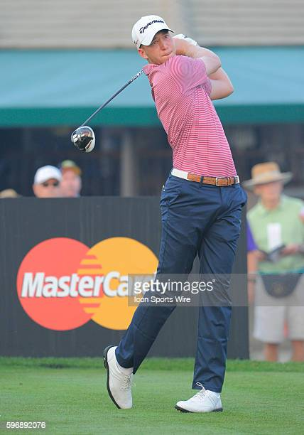 Daniel Berger during the second round of the Arnold Palmer Invitational at Arnold Palmer's Bay Hill Club Lodge in Orlando Florida