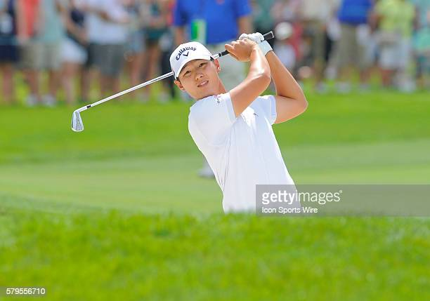 Danny Lee during the final round of the Arnold Palmer Invitational at Arnold Palmer's Bay Hill Club Lodge in Orlando Florida