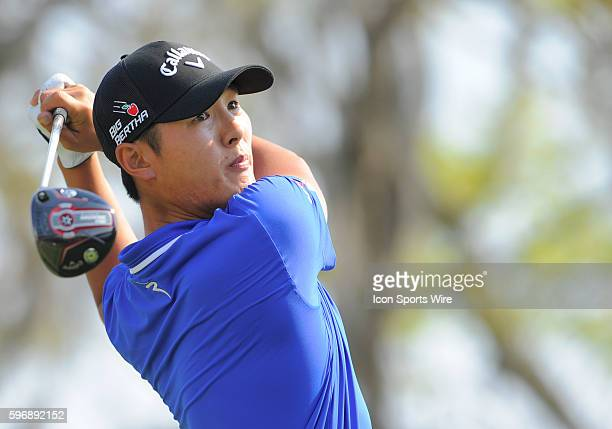 Danny Lee during the second round of the Arnold Palmer Invitational at Arnold Palmer's Bay Hill Club Lodge in Orlando Florida