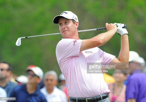 Harris English during the final round of the Arnold Palmer Invitational at Arnold Palmer's Bay Hill Club Lodge in Orlando Florida
