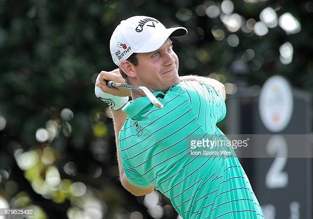 Harris English during the second round of the Arnold Palmer Invitational at Arnold Palmer's Bay Hill Club Lodge in Orlando Florida