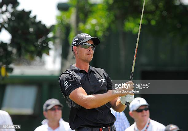 Henrik Stenson during the final round of the Arnold Palmer Invitational at Arnold Palmer's Bay Hill Club Lodge in Orlando Florida