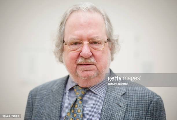 The US immunotherapist James P Allison taken after a press conference on the Paul Ehrlich and Ludwig Darmstaedter Prize at the Johann Wolfgang Goethe...
