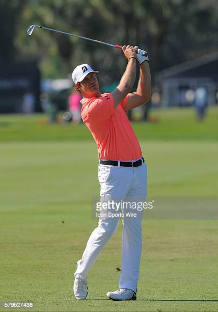 Hudson Swafford during the third round of the Arnold Palmer Invitational at Arnold Palmer's Bay Hill Club Lodge in Orlando Florida