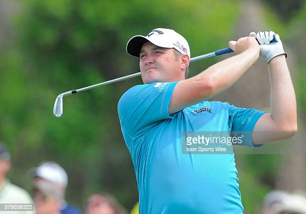 Jason Kokrak during the final round of the Arnold Palmer Invitational at Arnold Palmer's Bay Hill Club Lodge in Orlando Florida