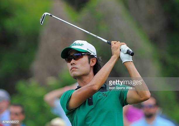 Kevin Na during the final round of the Arnold Palmer Invitational at Arnold Palmer's Bay Hill Club Lodge in Orlando Florida