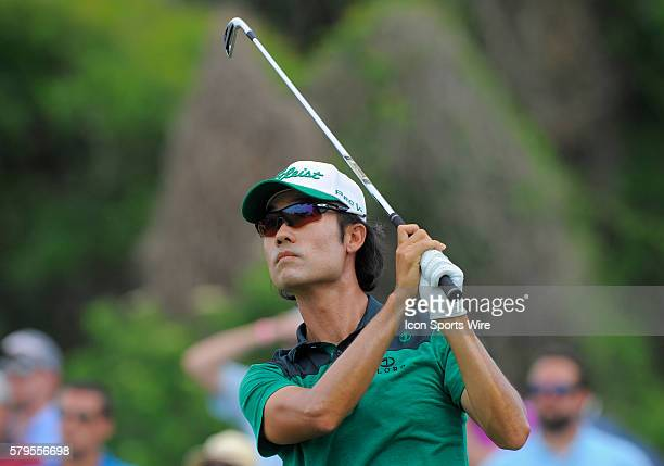 Kevin Na during the final round of the Arnold Palmer Invitational at Arnold Palmer's Bay Hill Club & Lodge in Orlando, Florida.