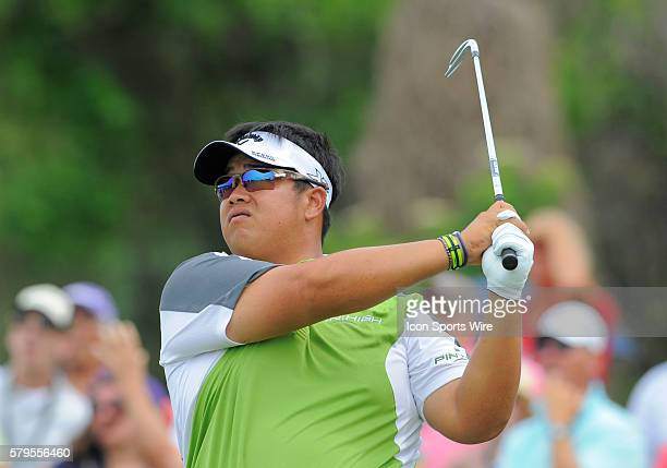 Kiradech Aphibarnrat during the final round of the Arnold Palmer Invitational at Arnold Palmer's Bay Hill Club Lodge in Orlando Florida