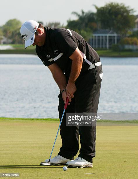 Patrick Reed Texas on the The 18th Hole in the Third round of The Honda Classic at PGA National Resort Spa Champion Course in Palm Beach Gardens FL