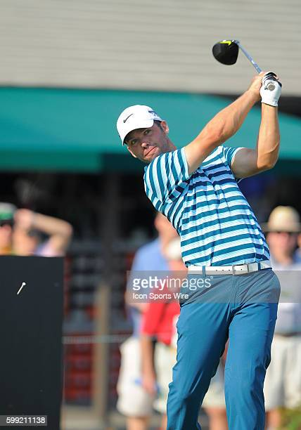 Paul Casey during the second round of the Arnold Palmer Invitational at Arnold Palmer's Bay Hill Club Lodge in Orlando Florida